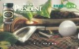 Japan: Prepaid: Nestlé, Nescafé President - Ohne Zuordnung