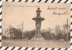 U833 REIMS CARTE PUBLICITE PAIN EPICES BISCUITS ELIE SIGAUT FONTAINE BARTHOLDI PLACE DE LA REPUBLIQUE 1905   CIRCULE - Reims