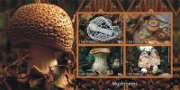 MUSHROOMS CHAMPIGNONS PADDESTOELEN PADDENSTOELEN MUSHROOMS PILZE SETAS FUNGHI  MNH Imperforated CINDERELLA - Etichette Di Fantasia