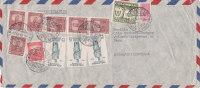 COLOMBIE : Lettre 24 X 11 Cms. Oblitérée Le 6.3.1950 - Colombie