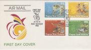 Papua New Guinea -1991 South Pacific Games   FDC - Papua New Guinea