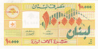 Lebanon, Banknotes 10.000 LL Year 1998-uncirculated- Scarce-SKRILL PAYMENT ONLY - Lebanon