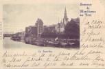 MARCHIENNE AU PONT = Souvenir De M.... = La Sambre (Nels  Bxl  S.5  N° 3) 1899 - België