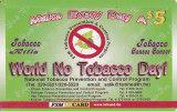 Micronesia, FSM-R-012, $5, World No Tobacco Day, 2 Scans. - Micronésie