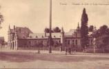 TOURNAI = Chaussée De Lille Et école Communale - Carte Animée  (vierge) - Doornik