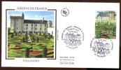 FDC  2011 - Jardins De France - Jardins De Villandry - 1er Jour Le 16.09.2011 à 37 Villandry - 2010-....
