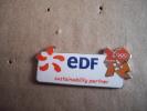 "1 Pin""s Edf Londres 2012 Sustainabillity Partner - Pin's & Anstecknadeln"