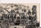 CP, 51, Reims, La Cathédrale Pendant L'incendie Du 19 Septembre 1914, Vierge - Reims