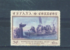 SPAIN  -  1930  Columbus  50c  MM - 1889-1931 Reino: Alfonso XIII