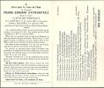 COURTRAI  BELLEGEM  PIERRE EDOUARD  GRYMONPREZ  17.10.1869 - 3.12.1950 - Images Religieuses