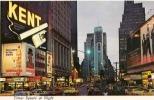 CPM/CPSM 2tats Unis New York City Time Square La Nuit Belle Carte Bon état - New York City