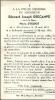 ARC AINIERES  EDOUARD JOSEPH  DESCAMPS  19.05.1872 - Lachement Assassiné Le 10.05.1951 - Santini