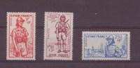 Guyane N° 169 à 171** , Neuf Sans Charniére