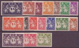 Guyane N° 182 à 200** , SAUF LE 184 Et 189 Neuf Sans Charniére