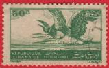 1946 -  Asie  -  République Libanaise  -  Poste Aérienne -  Hérons -  50 Pi Vert - - Lebanon