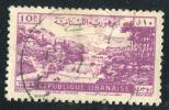1948 - Asie - République Libanaise - Poste Aérienne - Paysage Libanais - 10 Pi Lilas Rose - Lebanon