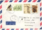 1991 Belgium Airmail Cover With  Very Nice Franking, Sent To Honduras - 1945-.... 2nd Republic