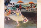 DEGAS SERIE 58 DANCING GIRL BOWING AUTENTIQUE ORIGINALE D´EPOCA 100% - Pittura & Quadri