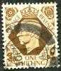 1937-47 - Europe - Grande-Bretagne  - Georges VI - 1sh Bistre Brun - Used Stamps