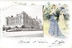 Cp/pk Jack Abeille Art Nouveau Jugendstil Château De St Germain 1902 - Other Illustrators