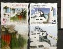 Formose 2000 N° 2561A / B ** Université De Tamkang, Musée Maritime, Drapeaux, Lanternes - 1945-... République De Chine