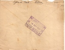 Lettre - Algérie - Bone - Constantine - Agence Cook Wagons Lit Us 1950 Marcophilie Pour St Geoire En Valdaine - Algeria (1924-1962)