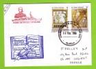 Jeanne D´Arc 99/2000, Aumonerie Catholique, Timbre Local Uruguay 9/2/2000 - Postmark Collection (Covers)
