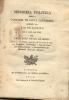 MEMORIA POLITICA SOBRE A CAPITANIA DE SANTA CATHARINA ESCRIPTA NO RIO DE JANEIRO IM O ANNO DE 1816 POR PAULO JOZE MIGUEL - Boeken, Tijdschriften, Stripverhalen