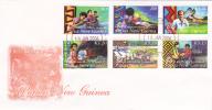 Papua New Guinea -2006  Summer Institute Of Linguistic FDC - Papua New Guinea