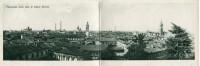 BELLA VEDUTA DALL'ALTO DI BUSTO ARSIZIO NEGLI ANNI '20. CARTOLINA-BIGLIETTO DEL 1923 - Italie
