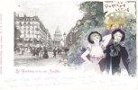 Cp/pk Jack Abeille Art Nouveau Jugendstil Quartier Latin 1900 - Other Illustrators