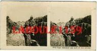 PHOTO STEREOSCOPIQUE - MILITARIA - POUR RESISTER AUX GAZ ET AUX ACIDES - Photos Stéréoscopiques