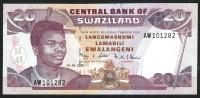SWAZILAND :  20 Emalageni – 2006 - P30 -UNC - Swaziland