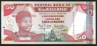 SWAZILAND :  50 Emalageni – 2001 - P31 -UNC - Swaziland