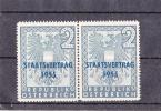1955 PLATTENFEHLER SPINNE ** - Abarten & Kuriositäten