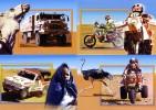 NIGER 1997 RALLYE DAKAR AGADES CHAMEAU CAMEL MOTO MITSUBISHI AUTRUCHE OSTRICH TOUAREG TRUCK CAMION - Non Classés