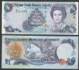 CAYMAN : 1  Dollar - 2006 - P33  - UNC - Isole Caiman