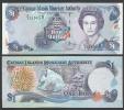 CAYMAN : 1  Dollar - 2001 - P26  - UNC - Isole Caiman