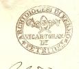 Free Postage Cover D'uffo 19-1-1857 Archioioces Difermo Petrium MITRE Shawl (E1552) - Christendom