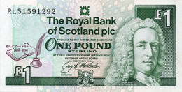 Scotland 1 Pound 3-12-1994 Pick 358.a   Circulated - Schotland