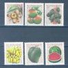 SURINAME Mi.Nr. 838-843 Früchte- MNH - Alimentation