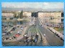 1962. GENEVE . Le Pont Du Mont Blanc Et L'île  J. J. Rousseau. Voitures, Bus Citroen , Pegeot, Volxwagen - GE Geneva