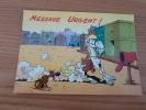 "Carte Postale ""MESSAGE URGENT (LUCKY LUKE)"" LUCKY MERCHANDISING 1995 - Bandes Dessinées"
