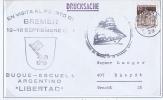 SegelschiffesArgentinisch En  Libertad, Bremen -> Rheydt, 1967 - Boten