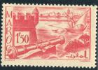 1939-40 - France - Maroc -  Remparts De Salé - 1 Fr 50 Rose - - Used Stamps