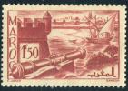 1939-40 - France - Maroc -  Remparts De Salé - 1 Fr 50  Rouge-brun - - Used Stamps