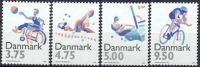 DENEMARKEN 1996 Sport PF-MNH-NEUF - Unused Stamps