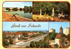 Gruss Aus SCHWEDT - Carte Multivues - 2 Scans - Schwedt