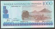 RWANDA  : 1000 Francs  - P27 - 1998 - UNC - Rwanda