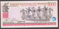 RWANDA  : 5000 Francs  -  1998 - UNC - Rwanda